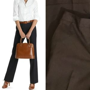 NWT! Brooks Brothers Brown Caroline Fit Trousers 6